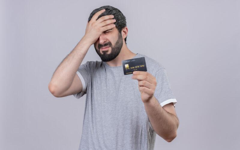 Erros com Cartão de Crédito