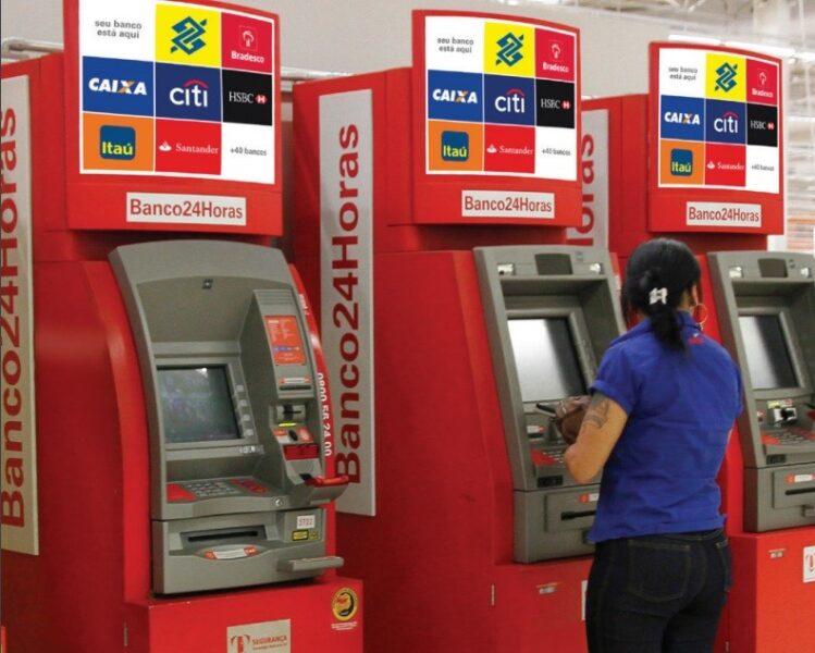 Banco 24 Horas: como localizar um caixa eletrônico?