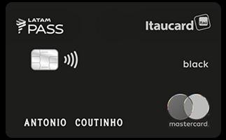 Cartão Crédito LATAM Pass Itaú Mastercard Noir