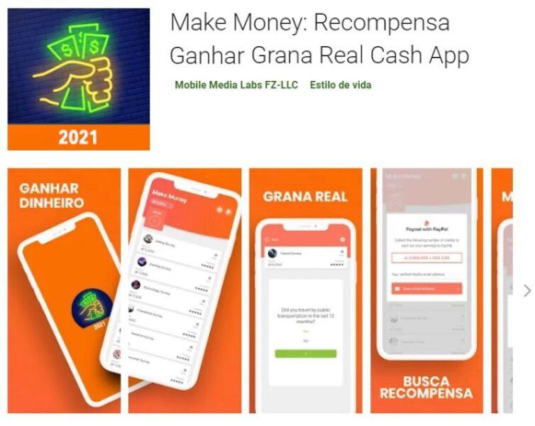 Make Money: Recompensa Ganhar Grana Real Cash App